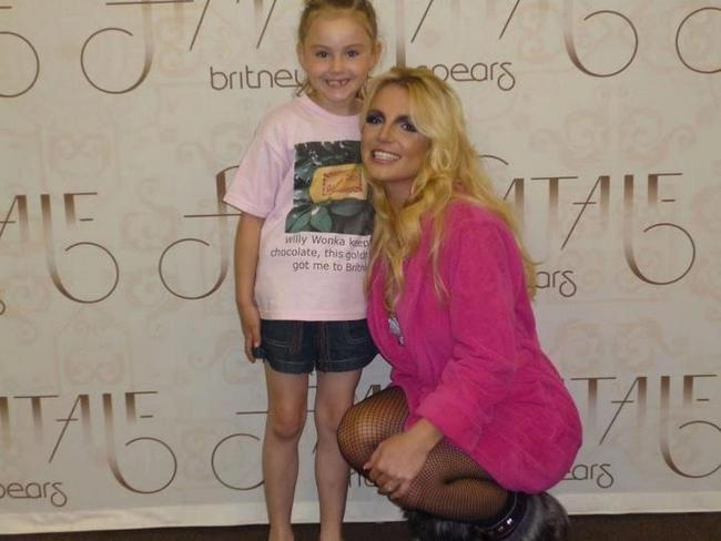 britney spears femme fatale meet and greet photos