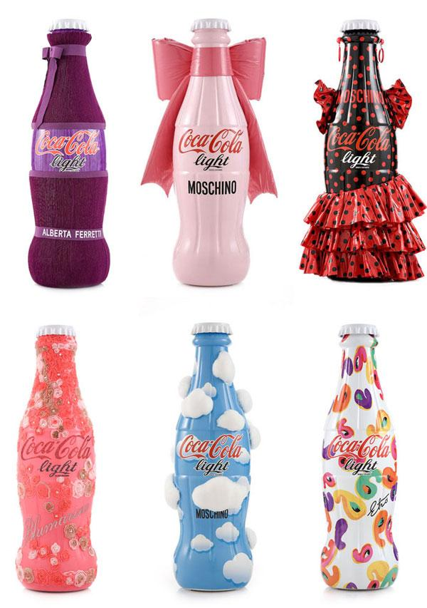 coca-cola-light-designer-bottles-tribute-to-fashion-italia