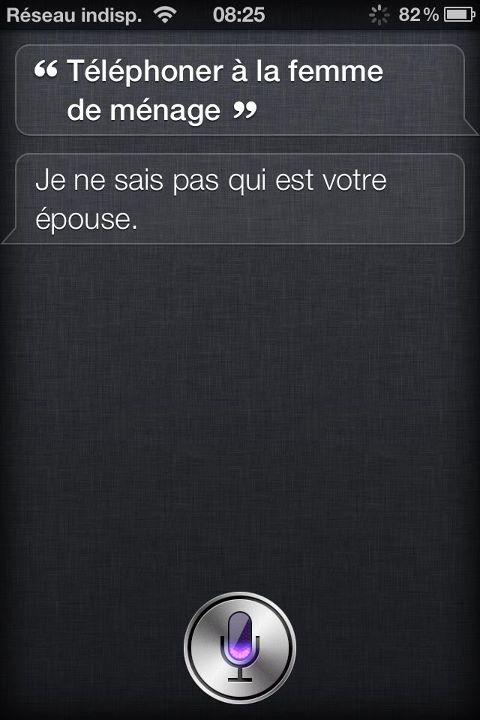 siri quote du jour n 10 siri en mode clash voir. Black Bedroom Furniture Sets. Home Design Ideas