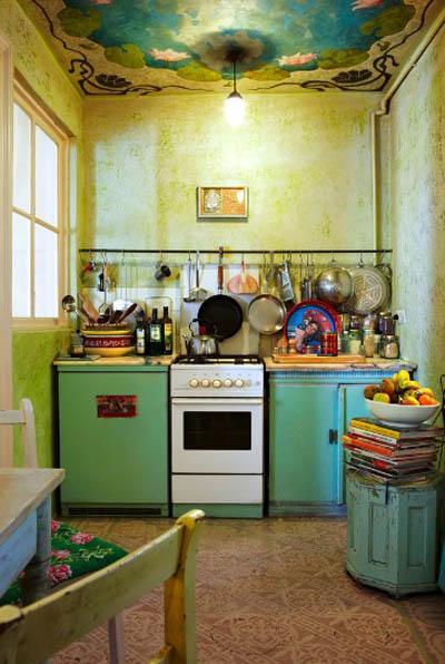 Un petit tour du c t des id es d co de cuisines - La cuisine du monstre tours ...