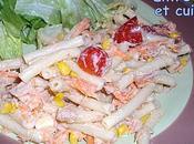 Salade macaronis thon