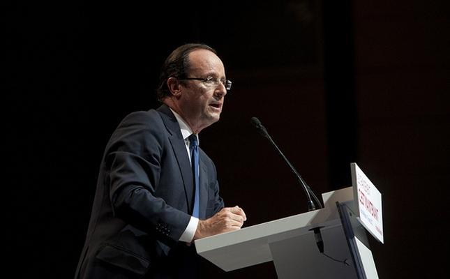 Discours de François Hollande à Mont-de-Marsan (29 mars)