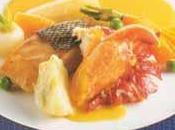 Navarin homard bleu l'armagnac safran