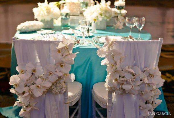 Decoration de mariage bleu aqua - Paperblog