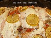 saumon julienne légumes citronnée