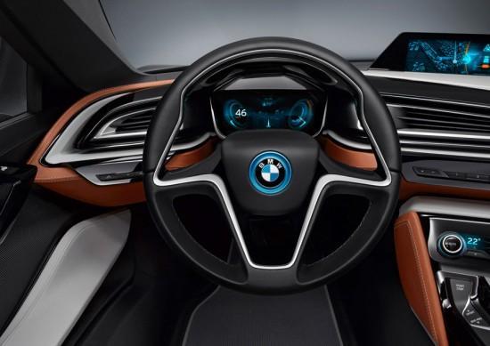 Image bmw i8 spyder 5 550x389   BMW i8 Spyder