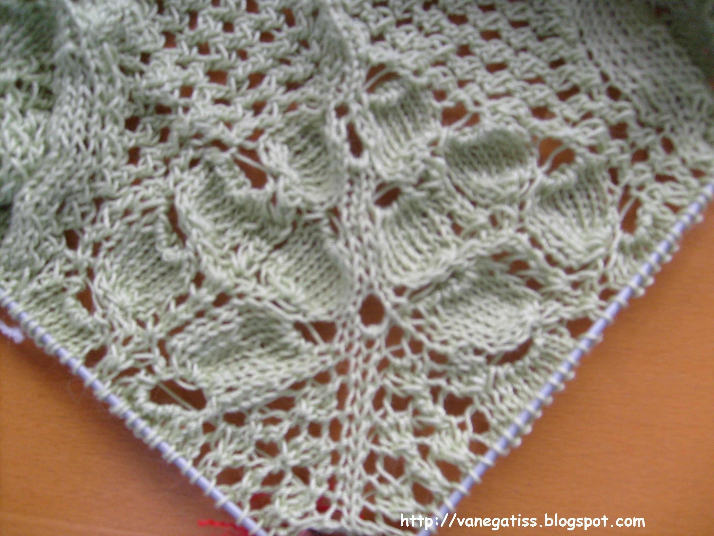 tricoter 7 mailles ensemble