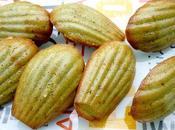 Madeleines pistache