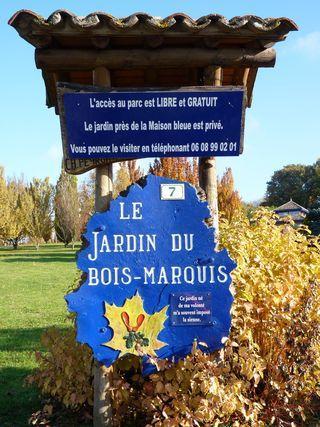Le jardin du bois marquis vernioz paperblog - Jardin bois marquis vernioz colombes ...