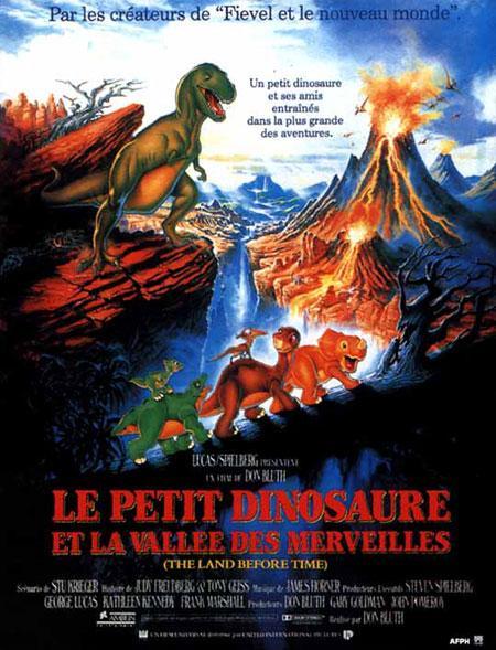 Affiche de 'Le petit dinosaure et la vallée des merveilles'