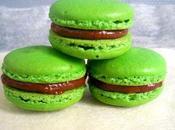 macarons chocolat-citron vert