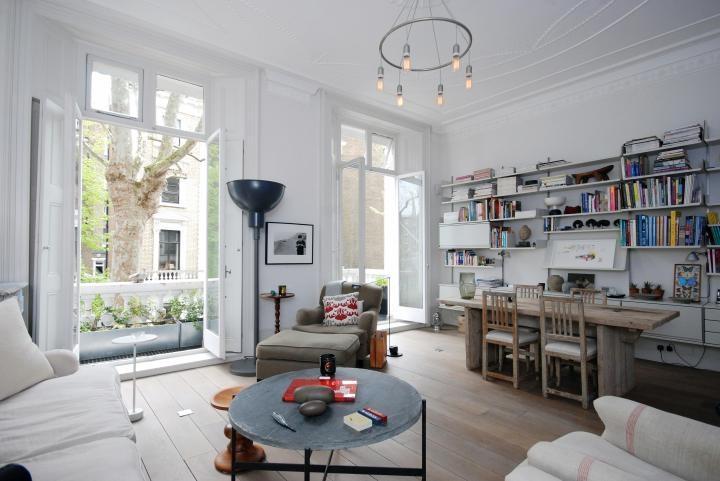 d coration appartement londonien. Black Bedroom Furniture Sets. Home Design Ideas