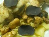 Queue lotte beurre truffe noire
