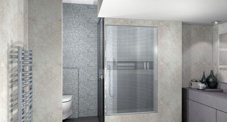 Conception et r alisation d 39 une salle de bain aix en for Conception salle de bain 3d mac