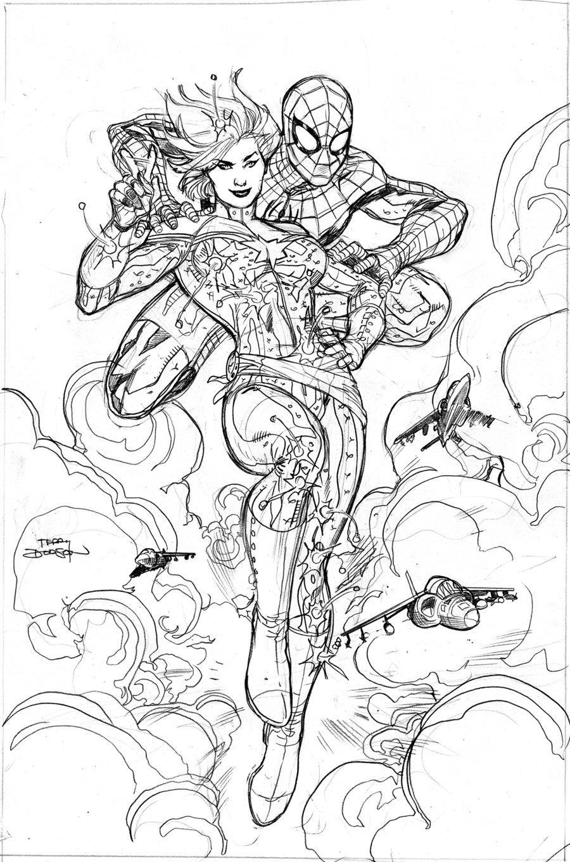 Captain Marvel Sur Avenging Spider Man 9 Paperblog