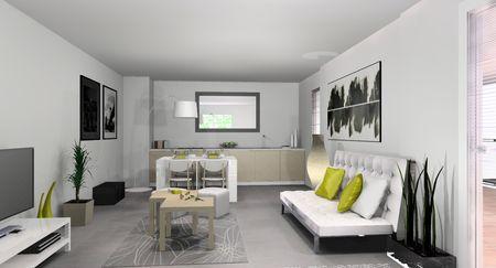 am nagement d 39 un appartement t moin sur marseille d couvrir. Black Bedroom Furniture Sets. Home Design Ideas