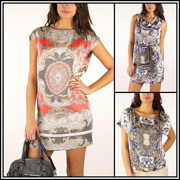 Pour ou contre l 39 imprim foulard paperblog - Robes americaines pret a porter ...