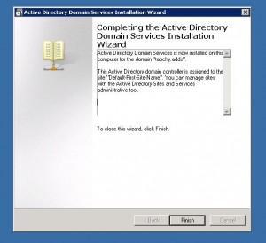 Installation D Un Active Directory Sous Windows Server