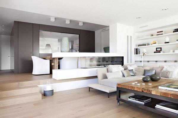 visite d co un appartement moderne barcelone d couvrir. Black Bedroom Furniture Sets. Home Design Ideas