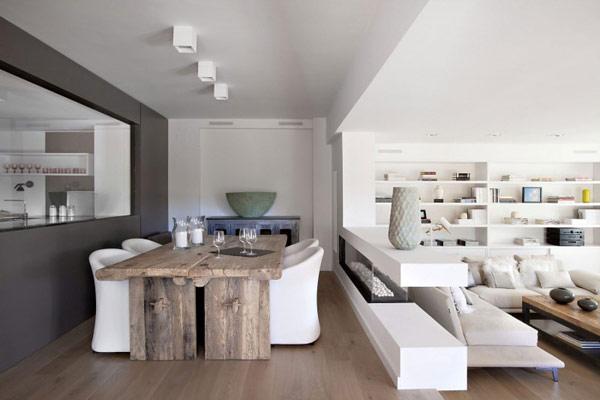 Visite d co un appartement moderne barcelone for Deco appartement feminin