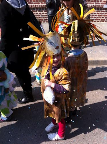 Le carnaval de l'école