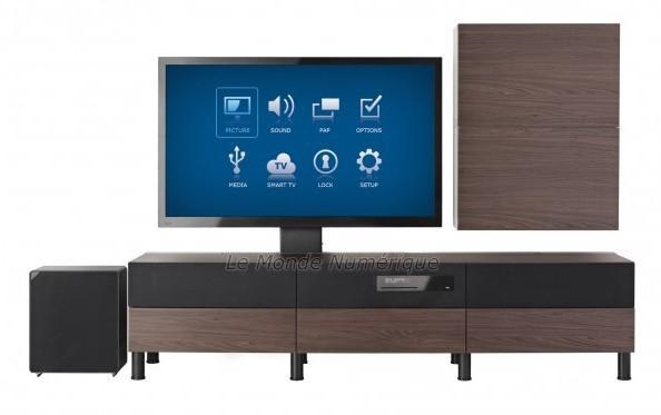 Meuble Tv Ikea Uppleva : Gnüt Uppleva Où Quand Ikea Propose Des Tv Intégrées Aux Meubles à