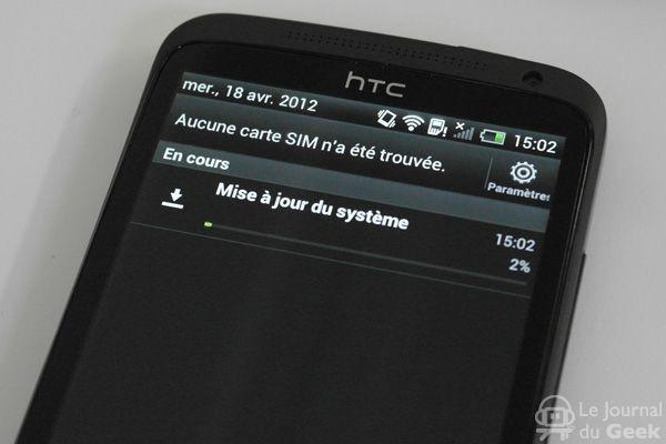 SAM1238 Mise à jour pour le HTC One X !
