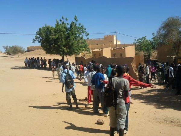 Situation déplorable vécue par les éleves de Bourem!!!