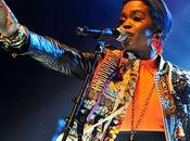 Lauryn Hill: Images concert Paris.