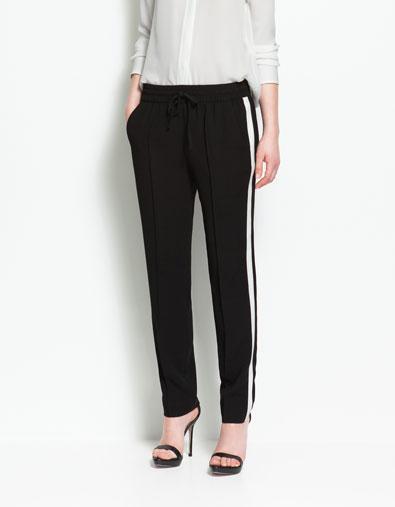 Pantalon noir trou zara id e inspirante - Vetement de travail leroy merlin ...