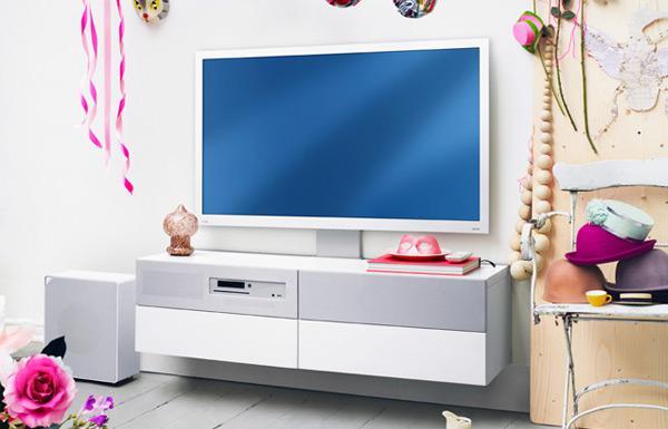 Pub Ikea Meuble Tv : Gros Avantage Du Meuble-tv Aucun Fil Apparent
