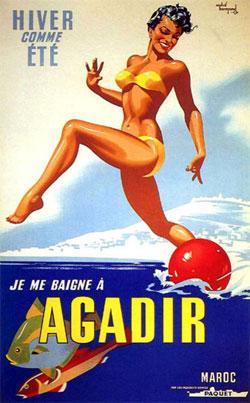 Suis-je bien allé à Agadir ?