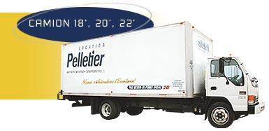 location camion Pelletier