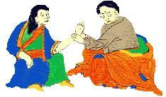 Médecine tibétaine, un amshi en consultation