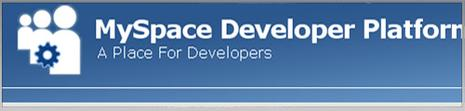Myspace a place for developers
