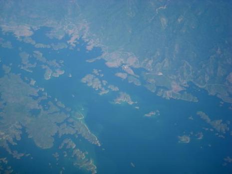 Magnifiques vues d'avion