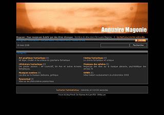 Annuaire Magonie