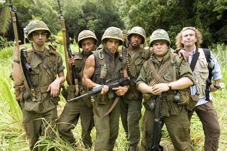 Bande annonce et images de Tropic Thunder avec Ben Stiller
