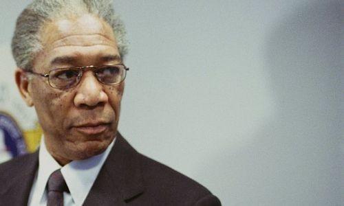 Morgan Freeman en Nelson Mandela