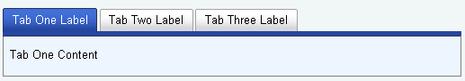 Yahoo! UI Tab view