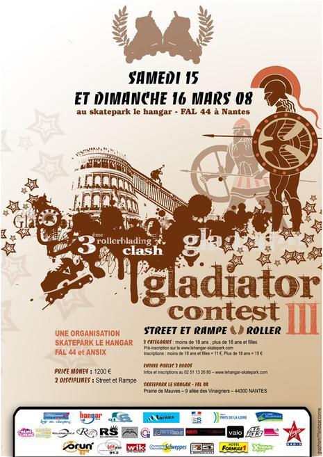 Résultats du Gladiator Contest (44)
