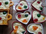 Semoule lait entier fruits confit