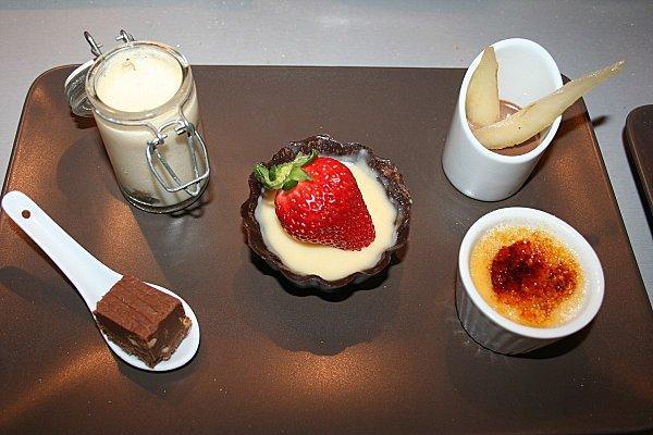 assiette gourmande declinaison de chocolat 3 192 voir