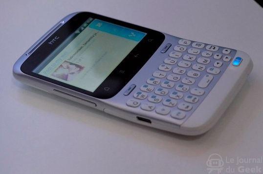 htc chacha1 Un Facebook Phone dans les cartons de HTC ?