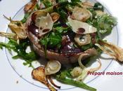 Tournedos roquette parmesan, sauce