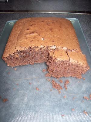 G teau au chocolat 4 mains sans beurre sans plv d couvrir - Gateau au chocolat sans four ...