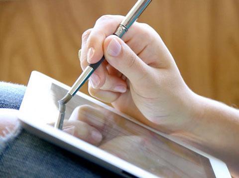 SENSU peinture pinceau iPad 4 iPad : peindre avec un pinceau