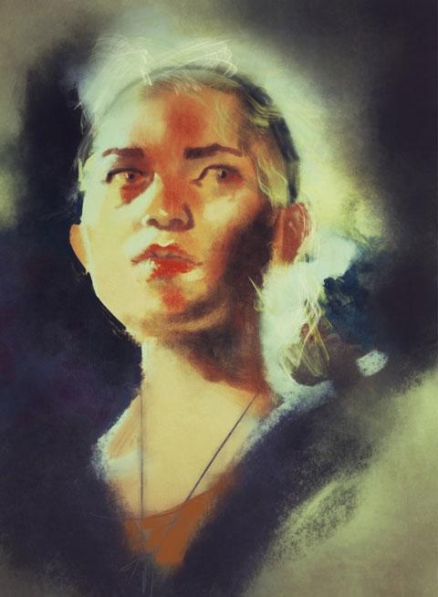 SENSU peinture pinceau iPad 1 iPad : peindre avec un pinceau
