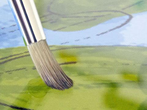 SENSU peinture pinceau iPad 5 iPad : peindre avec un pinceau