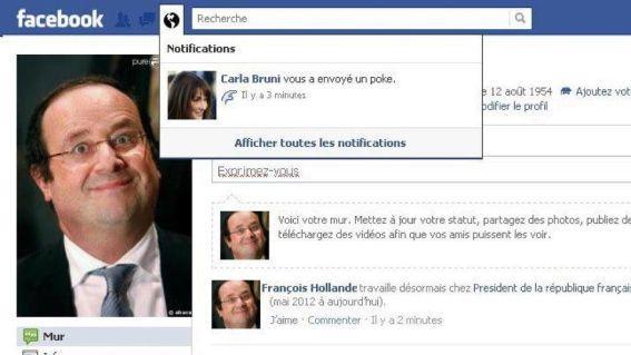 Elections Présidentielles + Facebook = Cirque Pinder